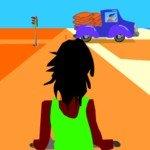 Игра Езда на мотороллере по пустыне
