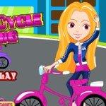 Игра Девочки на велосипедах