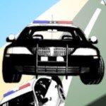 Игра Прыгающий полицейский автомобиль