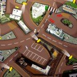 Игра Езда по Лондону мимо камер на дорогах