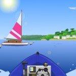 Игра Езда на катере по морю