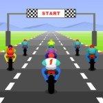 Игра Турбо мотогонки