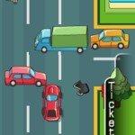 Игра Быстрая езда на автомобиле по городским улицам