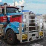Игра Гонки больших грузовиков с трейлерами