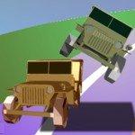 Игра Безумный джип на дороге