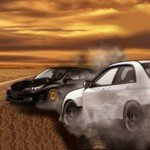 Игра Автомобильные соревнования лихих дрифтеров