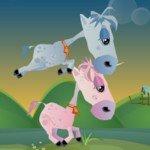 Игра Маленькие лошадки организуют забеги