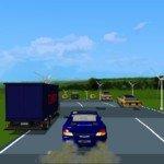 Игра Быстрая езда на машине по дороге