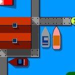 Игра Увлекательные гоночки разноцветных катеров
