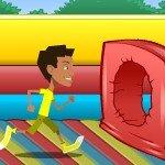 Игра Эстафета с полосой препятствия
