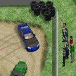 Игра 3D онлайн гонка на легковых машинах