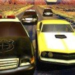 Игра Полицейская погоня на машинах