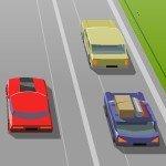 Игра Быстрая езда на автомобиле