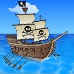 Игра Пиратские корабли: в погоне за сокровищами