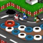 Игра Мини мотоциклы в онлайн мини гонках