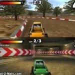 Игра Игра гонка на джипах для двоих (экран на 2 части)