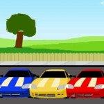 Игра Кольцевые мини гонки на машинах