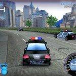 Игра Гонки на полицейских машинах