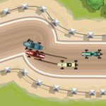 Игра Гонки на старых машинах Формулы 1