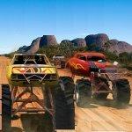Игра Гонки: Монстер траки 3D