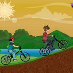 Игра Подростки на велосипедах