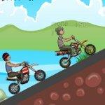 Игра Онлайн игра с гонками и трюками на мотоцикле