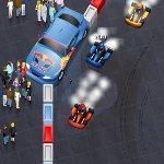 Игра 3D гонки на картах - мировой тур