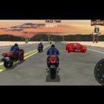 Игра Классная 3D гонка на мотоцикле