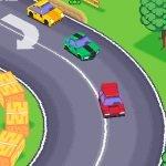 Игра Гонщики на машинах в 3D игре