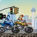 Игра Быстрые рейнджеры на мотоциклах