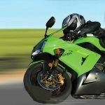Игра Ловкий мотоциклист на трассе