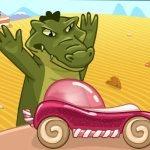 Игра Гонки от крокодила