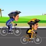 Игра Велосипедные покатушки на скорость