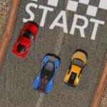 Игра Улетная гонка на машинах по трассам