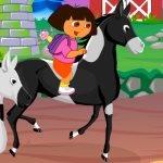 Игра Даша путешественница против Барби
