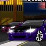 Игра Полуночные гонки на машинах