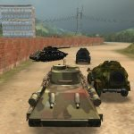 Игра Гонки на танках и военной технике