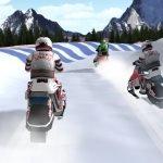 Игра Онлайн игра: Гонки на снегоходах 3Д