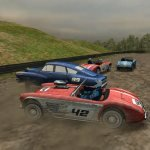 Игра Ретро гонки на машинах 3Д