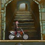 Игра На мотоцикле в подземелье