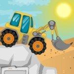 Игра Три трактора в пустыне