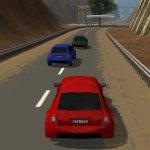 Игра Гонщик на красной машине