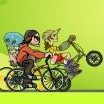 Игра Гонки ребят на велосипедах