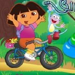 Игра Дора Путешественница на велосипеде