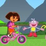 Игра Даша Путешественница - велосипедистка