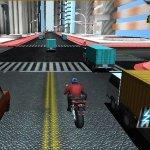 Игра На мотоцикле по городу и за городом
