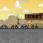 Игра Гоночный спринт монстр джипов